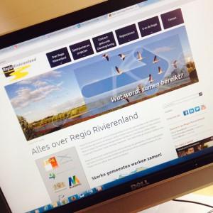Website Regio Rivierenland