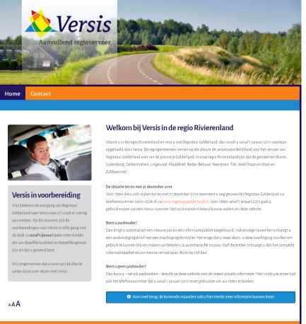 Versis website