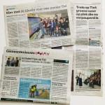 Na de lancering van de website van Trots op Tiel in Zinder op 27 januari 2018 verschenen diverse artikelen in de krant