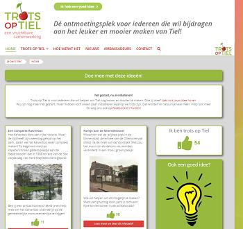 Website Trots op Tiel